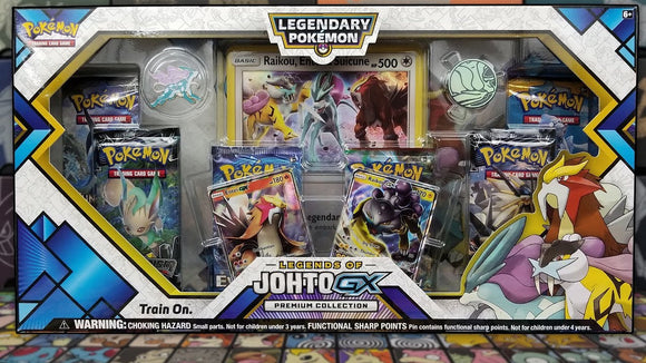 Pokemon: Legendary Pokemon Legends of Johoto GX Premium Collection