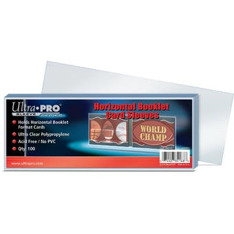 Ultra Pro Horizontal Booklet Card Sleeves