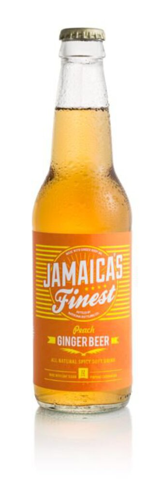 Jamaica's Finest Peach Ginger Beer 12 oz