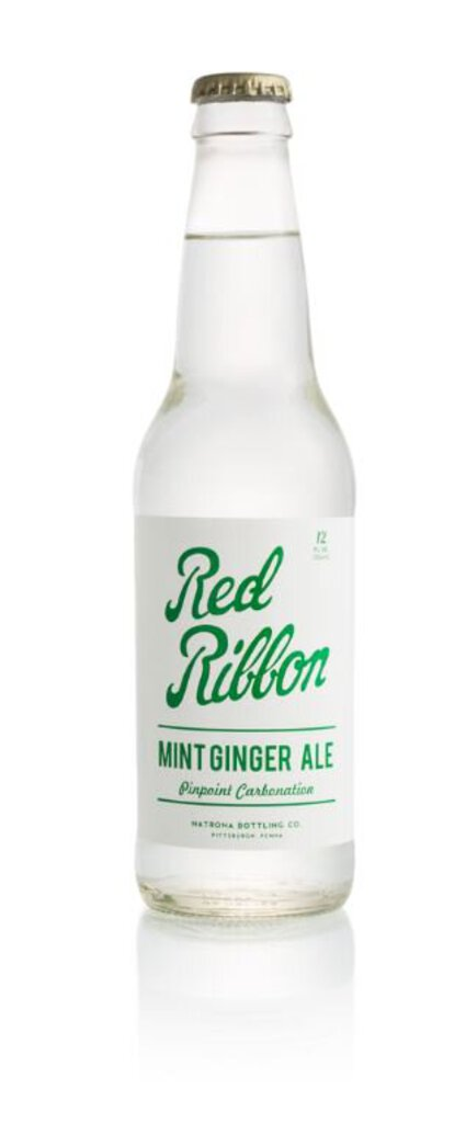Red Ribbon Mint Ginger Ale 12 oz