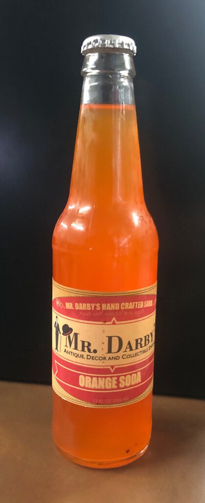 Mr. Darby's Old Fashion Orange Soda
