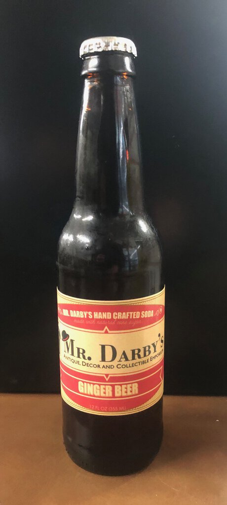 Mr. Darby's Old Fashion Ginger Beer Soda