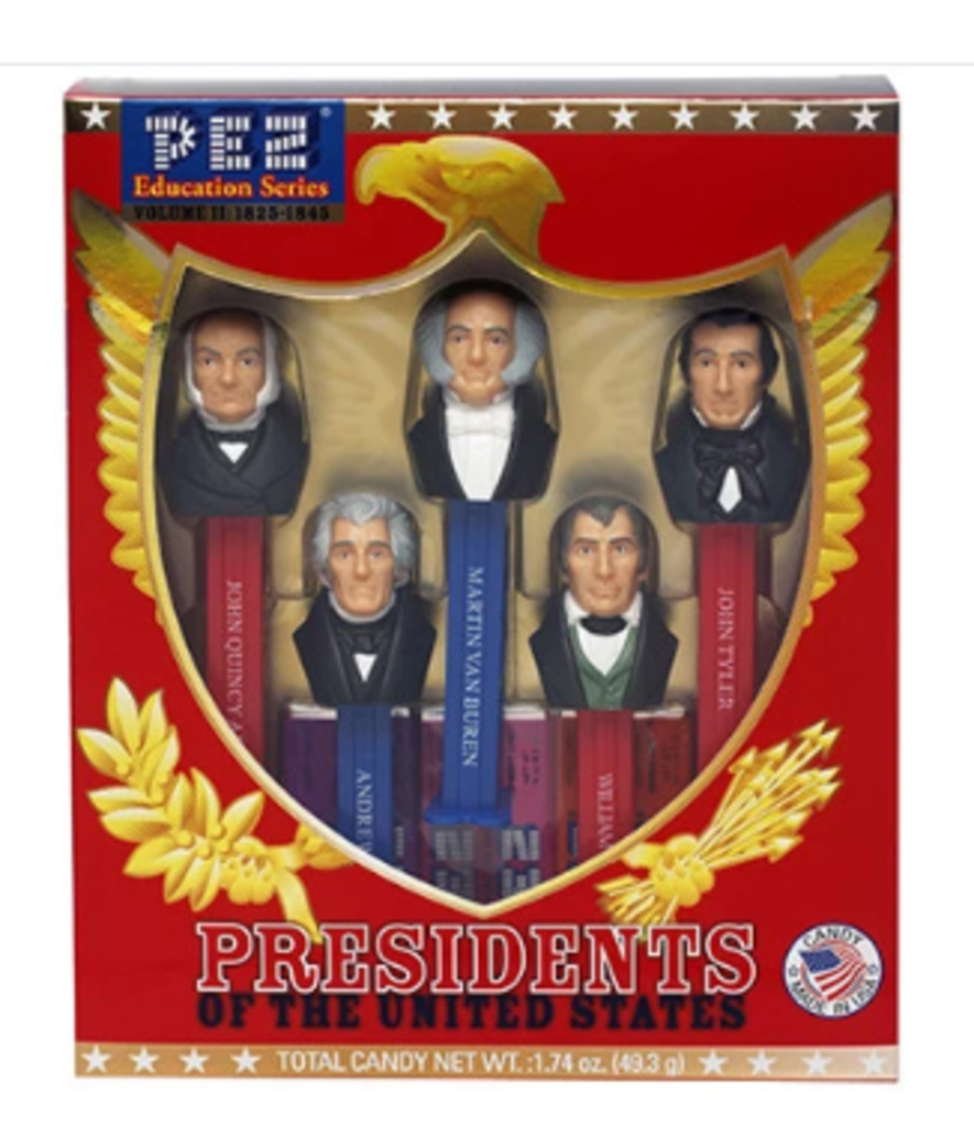Pez President Set II - with Candy (DIS)