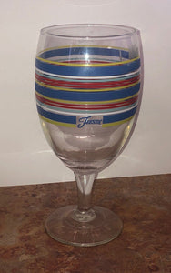 Fiesta - 16 oz. Ice Tea / Wine Glass - Peacock / Cobalt / Yellow / Black (DIS)