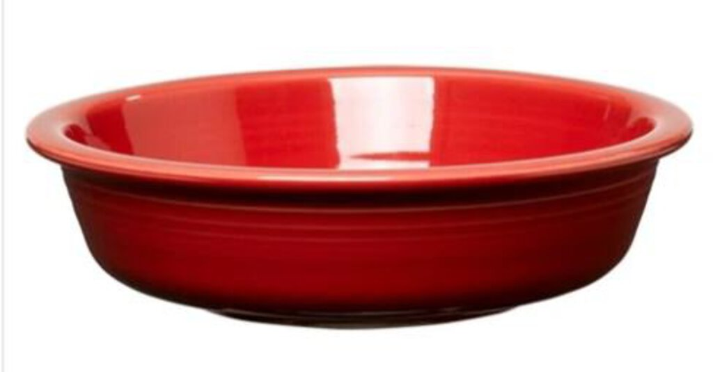 Fiesta - Scarlet Medium Soup Bowl