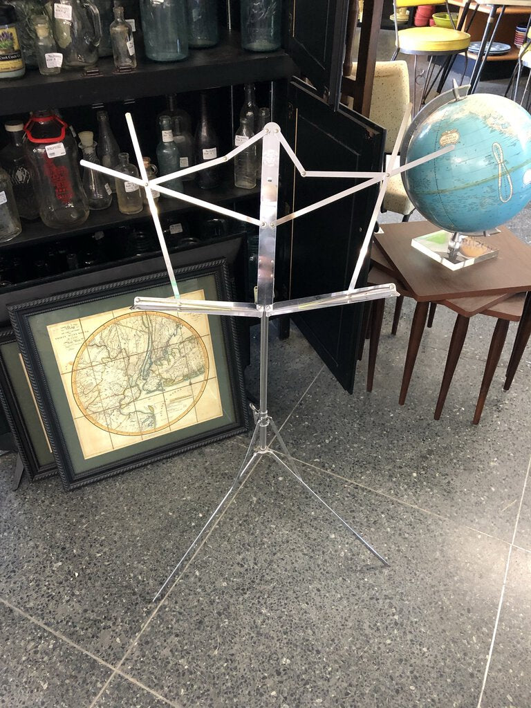 Metal Music Stand - Marked - The Hamilton No. 600-N