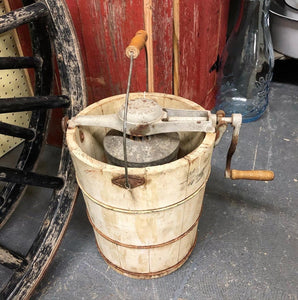 Vintage Artic Ice Cream Bucket