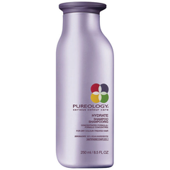 Pureology's Hydrate duo is suitable for dry and colored hair. Shampoo moisturizes and.