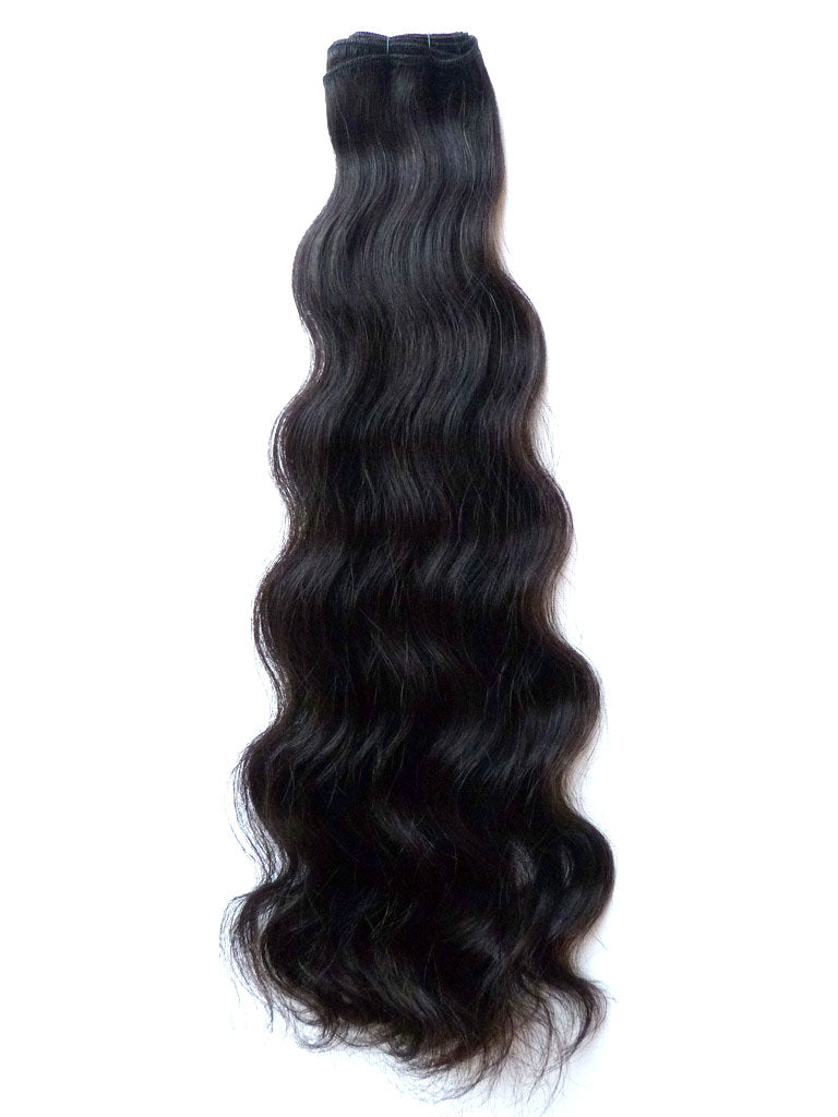 Virgin Uncoloured Brazilian Remy Human Hair Wefts Quick Shipping