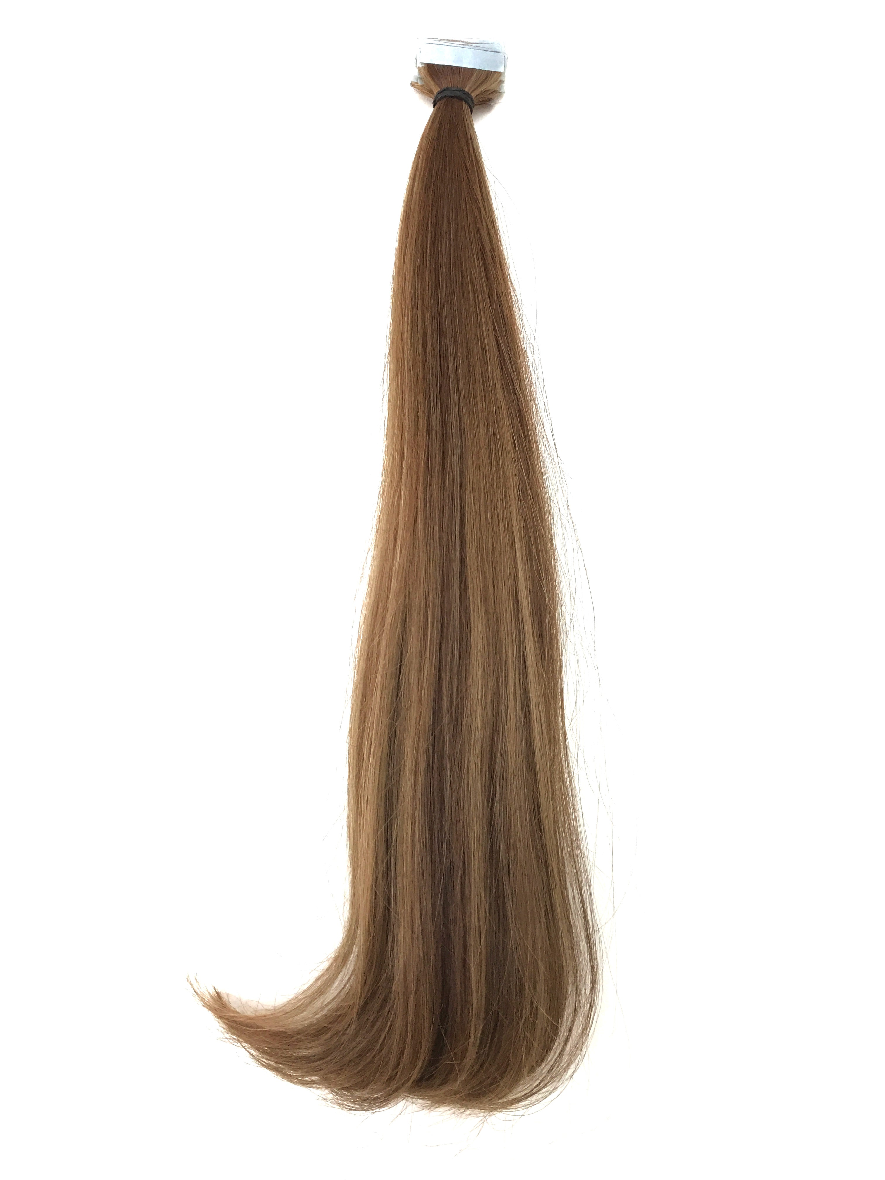 Double Drawn Brazilian Virgin Remy Human Hair Tape Hair Extensions