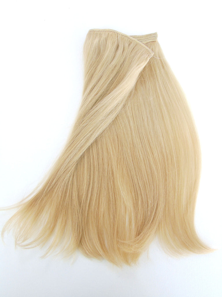 Virgin Remy Quad Weft Clip In Hair Piece With Halo Loop