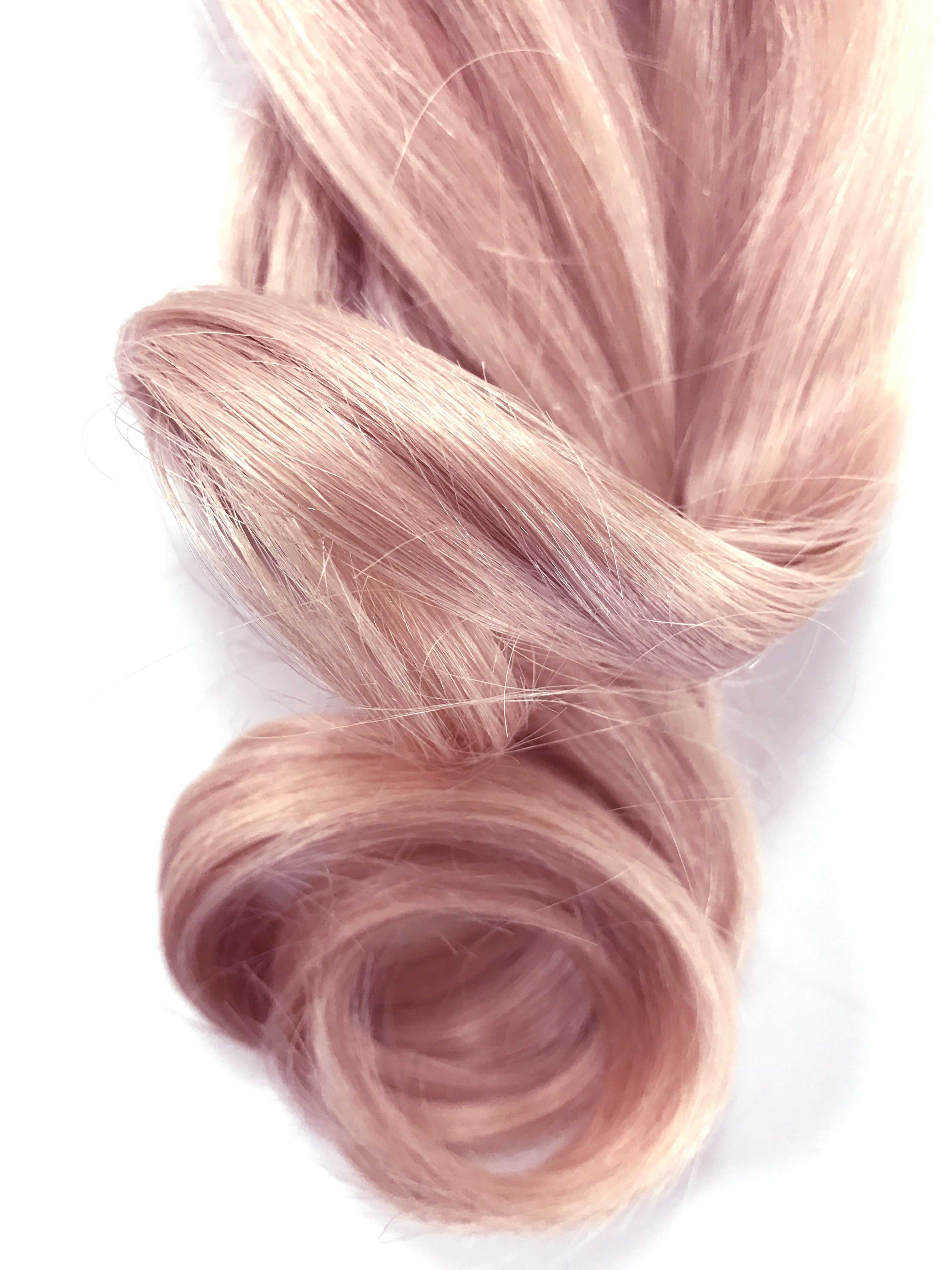 Rose gold hair colour hair extensions brazilian european hair bala rose gold hair colour extensions light rose pmusecretfo Choice Image