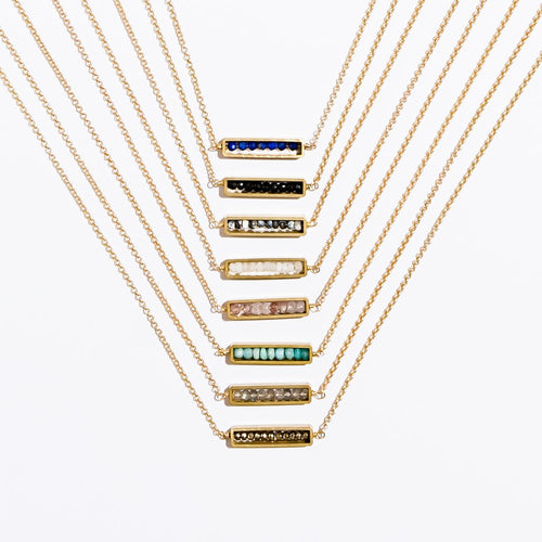 Larissa Loden Jewelry  - Abacus Necklace