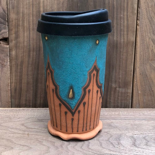 Victoria Smith Ceramics - Travel Tumbler VI