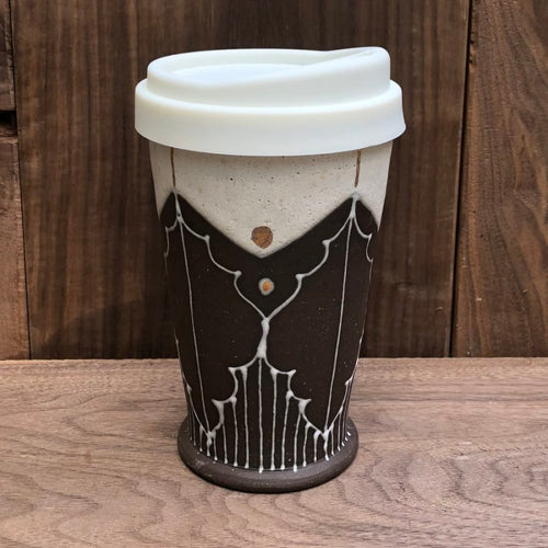 Victoria Smith Ceramics - Travel Tumbler X