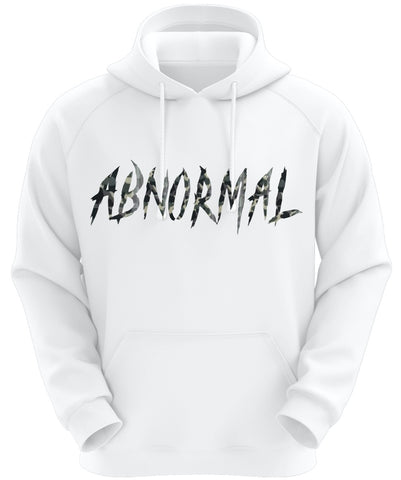 White Abnormal Hoodie (Camo)