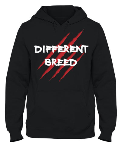 Black Different Breed Hoodie