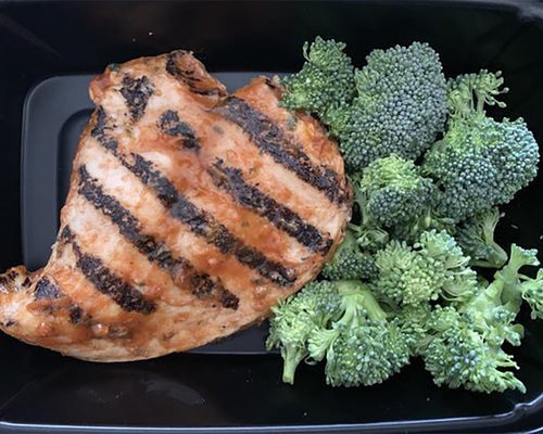 Fitstyle Foods Summer BBQ Chicken and Veggies