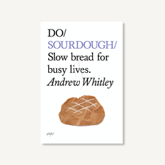 Do Sourdough by Andrew Whitley book cover on white background