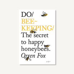 Do Beekeeping by Orren Fox, book cover on white background