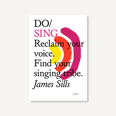 Do Sing by James Sills book cover on white background