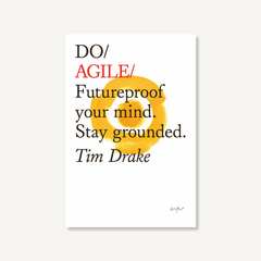 Do Agile by Tim Drake, book cover on white background