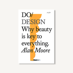 Do Design cover by Alan Moore on white background