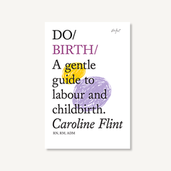 Do Birth by Caroline Flint book cover on white background