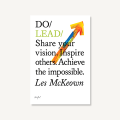 Do Lead by Les McKeown book front cover on white background