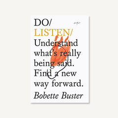 Do Listen by Bobette Buster - front cover on white background
