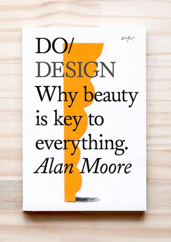Do Design book cover orange key