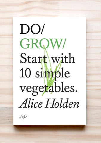 Do Grow book cover simple guide to planting vegetables