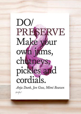 Do Preserve book cover guide to preserving
