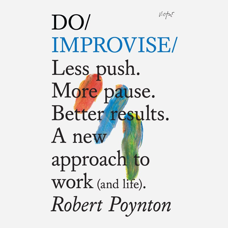 Go to audible to see Do Improvise