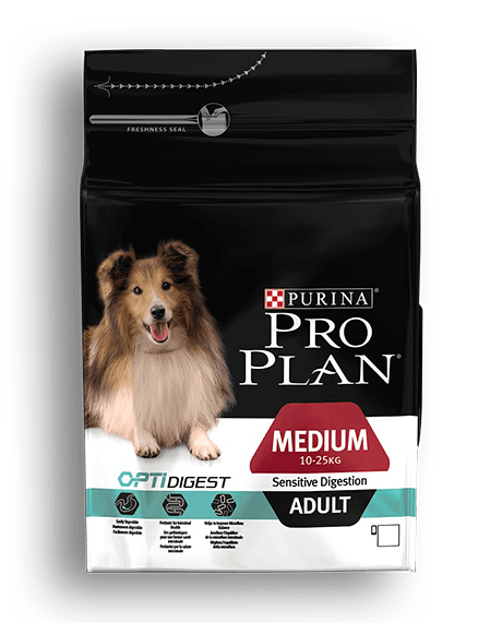 PURINA®PRO PLAN® DOG Medium Adult - Sensitive Digestion with OPTIDIGEST™