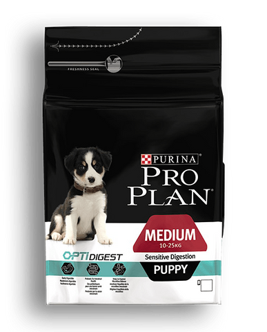 PURINA® PRO PLAN® DOG Medium Puppy - Sensitive Digestion with OPTIDIGEST™