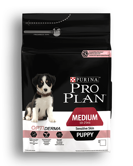 PURINA® PRO PLAN® DOG Medium Puppy - Sensitive Skin with OPTIDERMA™