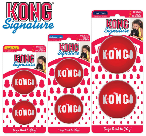 Kong Signature Ball (Shelter Dog)