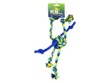 K9 ZEUS ROPE & TPR SPIDER BALL 12""