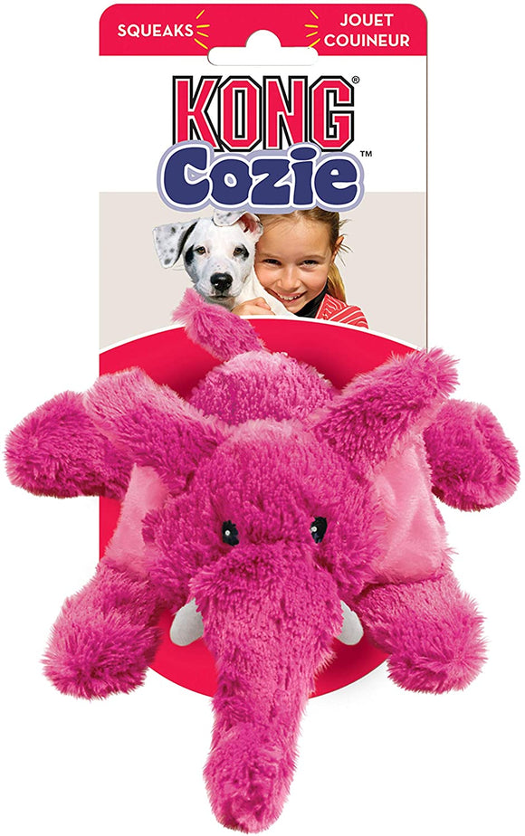 KONG - Cozie™ Cuddle Squeaky Plush Dog Toy