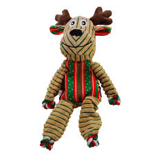 KONG Holiday Floppy Knots Reindeer Large 36cm