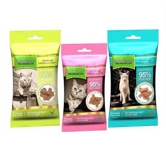 Natures Menu Cat Treats (Shelter Cat)