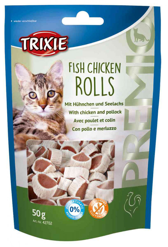 Trixie Fish Chicken Treats For Cats (Shelter Cat)