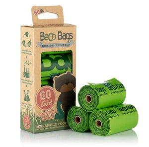 Beco Pets Unscented Degradable Poop Bags Travel Pack