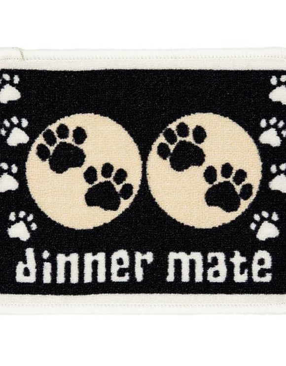 MINI MATE BLACK FOOD MAT 30X40CM