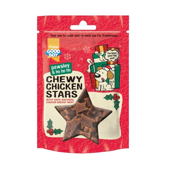 Good Boy Chewy Chicken Stars