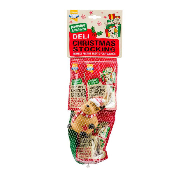 Good Boy Pawsley Deli Christmas Stocking for Dogs