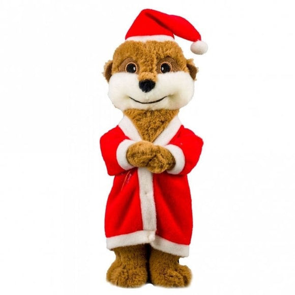 Good Boy Santa Meercat Teddy