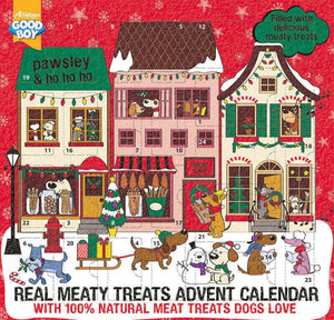 Pawsley Real Meaty Treat Dog Advent Calendar