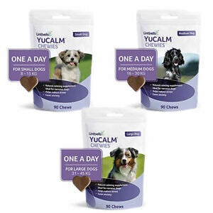 Lintbells YuCALM One-a-Day Chewies (Shelter Dog)